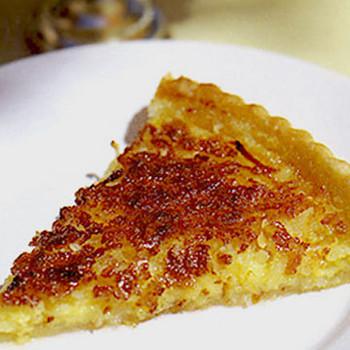 Lemon Coconut Buttermilk Pie