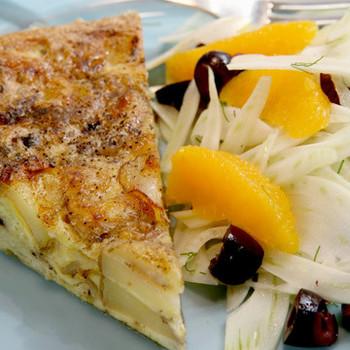 Potato-and-Onion Frittata