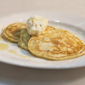 Lemon-Poppy Seed Ricotta Pancakes