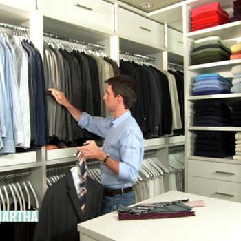 Closet Makeover with Kevin Sharkey