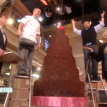 Devil's Food Cake with Chef Alain Roby
