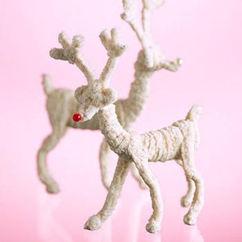 Pipe Cleaner Reindeers