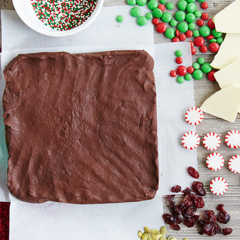 5 Easy Ways to Make Fudge Festive