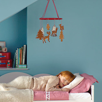 Gingerbread Bedroom Mobile