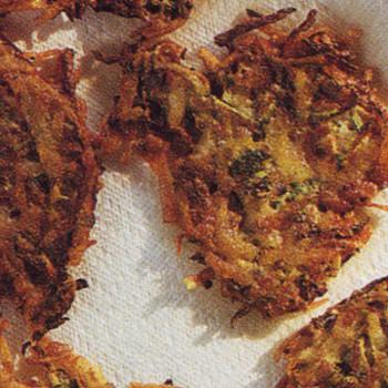 Zucchini-Potato Pancakes