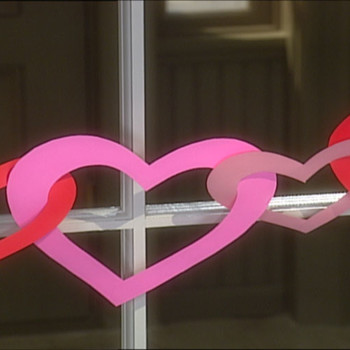 Linked Heart Garland