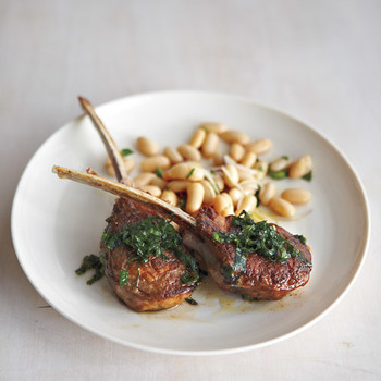 Lamb Chops with Fresh Mint
