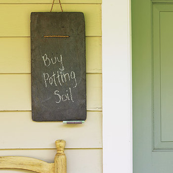 Roof Tile Message Board