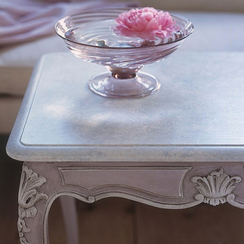 Faux Marble Table How-To
