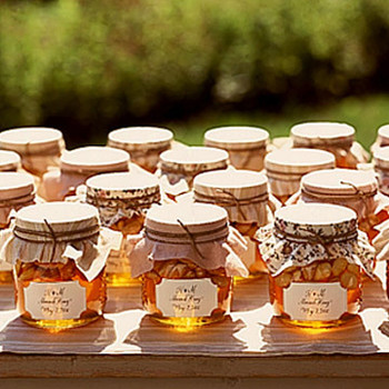 Almond Honey Favors