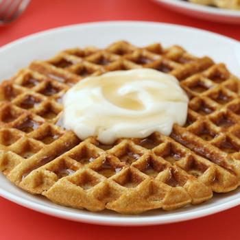 Breakfast Yogurt Waffles