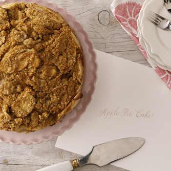Sugar-and-Spice Apple-Pie Cake EH