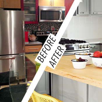 From Tacky to Tasteful: A Kitchen Renovation for an Old Maine House