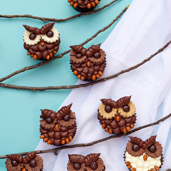 Cute Owl Cupcakes That Will Make You the Hoot of the Party