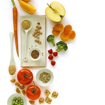 Healthy Fiber-Rich Foods Menu
