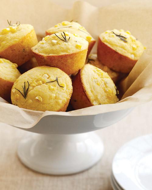 Rosemary-Corn Muffins