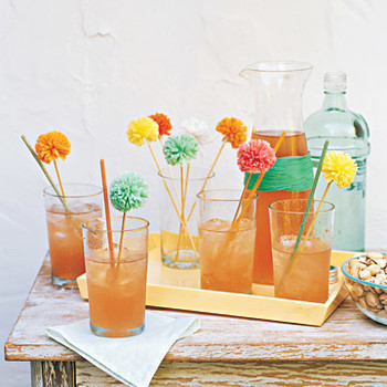 Raffia Cocktail Set