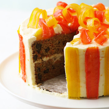 Carrot-Ginger Layer Cake with Orange Cream-Cheese Frosting Video