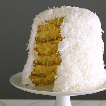 Watch: Coconut Layer Cake