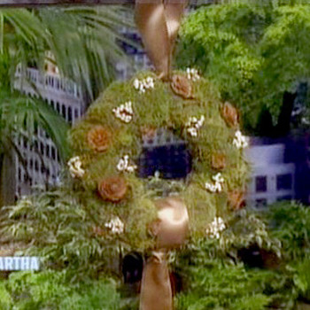 Crafting Cushion Moss Wreaths with Julianne Moore