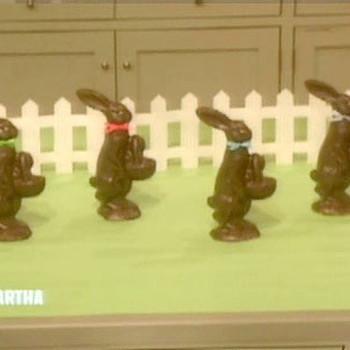 Faux Chocolate Bunnies, 2