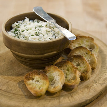 Simple Fresh Goat Cheese