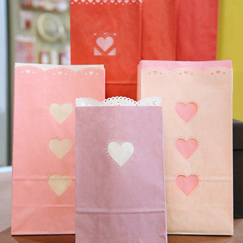 Punched-Paper Treat Bags