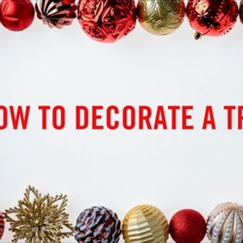HOW-TO: DECORATE A TREE THD