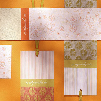 Patterned Bookmarks