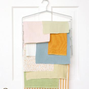 Fabric-Remnants Rack