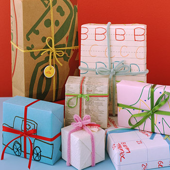 Low-Cost Gift Wrap