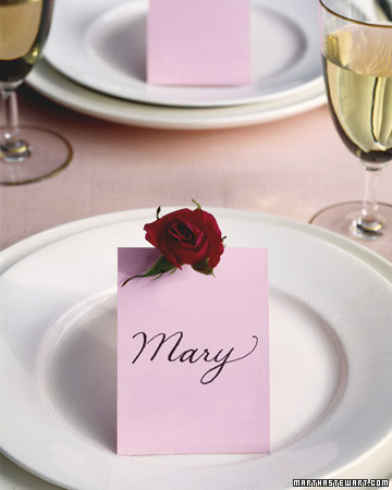 Blooming Place Cards
