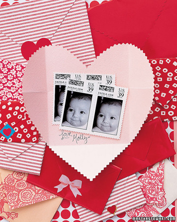 Heart Envelope Card
