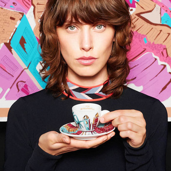 Emilio Pucci Designs the Chicest of Coffee Cups for Illy