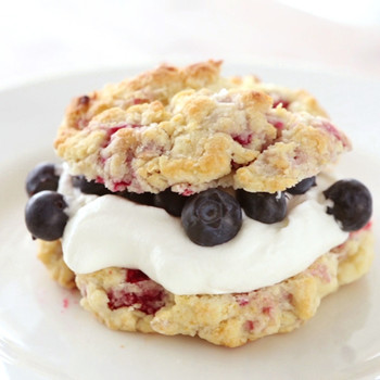 Raspberry Shortcakes