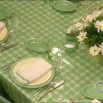 Summer Table Settings