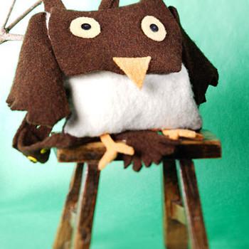 Eli the Owl Backpack