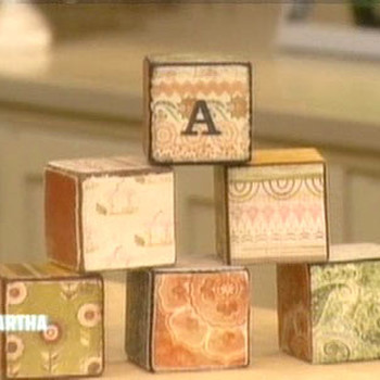 Baby Wooden Blocks