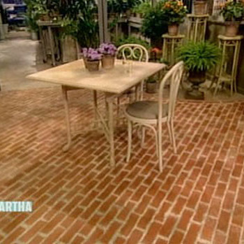 Crafting Faux Bricks with Julianne Moore