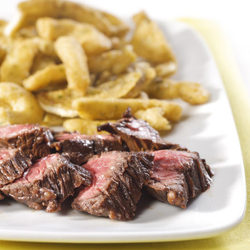 Hanger Steak with a Smoky Paprika Rub