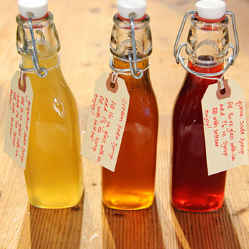 Quince Soda Syrup