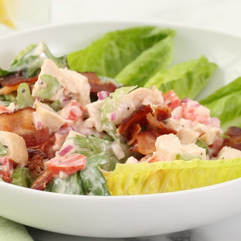 Chicken Club Salad with Bacon