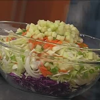 Creamy Cabbage Coleslaw