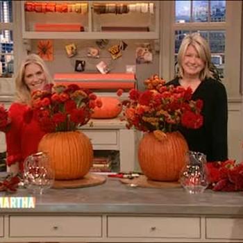 Festive Fall Flower Pot