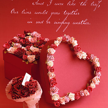 Quilling Valentines: Flowers