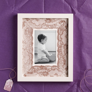 Lace Picture Frame Mat