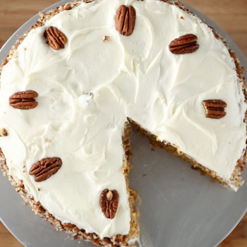 Mother's Day Carrot Cake