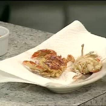 Soft-Shell Crab Po' Boys