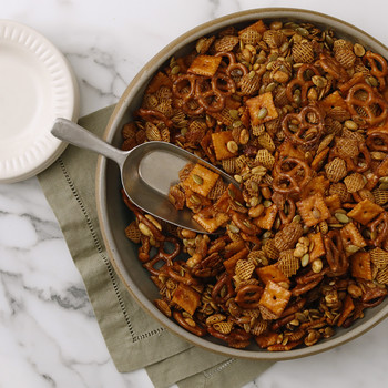 Spicy-Sweet Maple Snack Mix Video