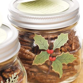 Spiced Maple-Glazed Pecans